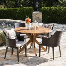 Modern Patio Dining Sets Mid Century Modern Patio Dining Sets You Ll Wayfair