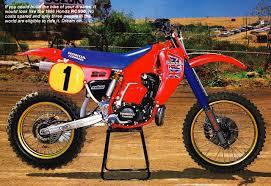 honda racing motocross factory honda works bikes 1974 2013 youtube