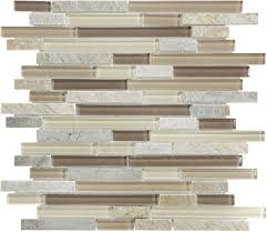 dune linear mosaic stone and glass quartz wall tile common 12 in