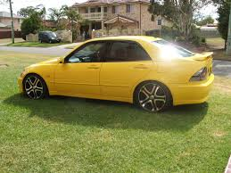 lexus is300 yellow lexus is200 yellow edition other cars for sale au starlet club