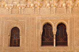 moorish architecture moorish architecture inside the alhambra stock photo image of