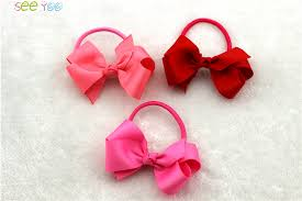 ribbon hair bands aliexpress buy 6pcs 3 grosgrain ribbon hair bow with