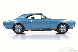 1967 camaro diecast 1967 chevy camaro z28 top 50th anniversary blue auto