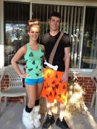 Pebbles Bam Bam Halloween Costumes Casual Flintstones Family Halloween Costume Thrift Store