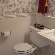 Toile Bathroom Wallpaper by 30 Best Black And White Toile Images On Pinterest Architecture