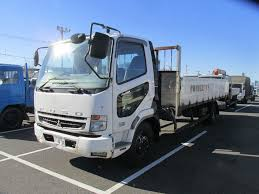 mitsubishi fuso dump truck trucks simplex co ltd japan