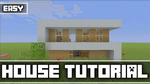 Modern Box House Minecraft Simple Modern Survival House Tutorial Xbox 360 Ps3