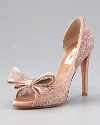 blush wedding shoes valentino lace pumps wedding shoes blush weddings