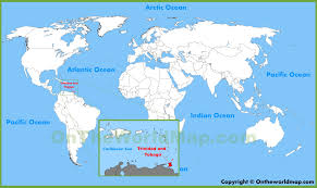 where is and tobago located on the world map and tobago location on the world map