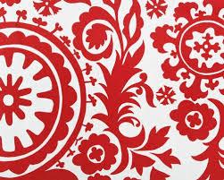Suzani Fabric Chair Red Suzani Fabric By The Yard Premier Prints Home Decor Lipstick