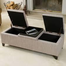 sofa round tufted ottoman living room ottoman black storage