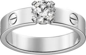 cartier solitaire rings images Crn4723700 solitaire ring white gold diamond cartier png