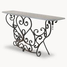 powell scroll console table scroll console table home design