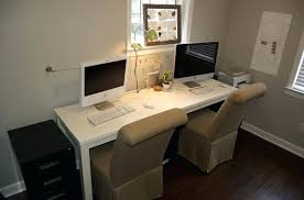 Two Person Home Office Desk Two Person Desk Bethebridge Co