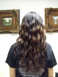 hair body wave pictures before and after loose curl perm for long hair body wave perm before and after