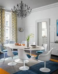 chaises tulipe la chaise tulipe emblème du design des ées cinquante archzine fr