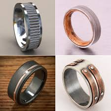 unique wedding bands unique engagement rings for men popsugar