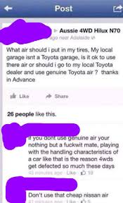my nearest toyota dealer make sure to have the right air guys facepalm