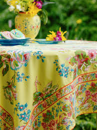 victorian rose tablecloth by april cornell live beautiful