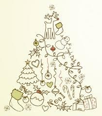 five vintage christmas tree printables what meegan makes