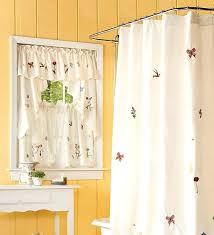 Bathroom Window Curtain Ideas Decorating Bath Window Curtains Teawing Co