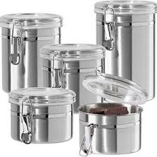 kitchen canisters stainless steel top 10 best kitchen canisters in 2018 reviews april 2018