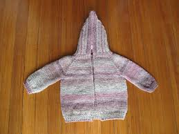 knitting pattern baby sweater chunky yarn ravelry hooded baby sweater with back zipper pattern by sarah punderson