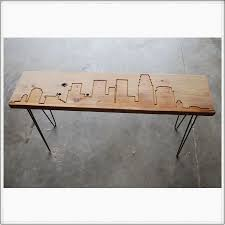 Hairpin Legs Los Angeles by Los Angeles Reclaimed Wood Bench Sustainable Urban Decor