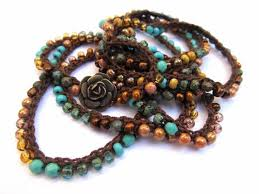 crochet beading necklace images 84 best crochet necklaces with beads images crochet jpg