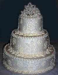 snowflake wedding cake cakes pinterest snowflake wedding