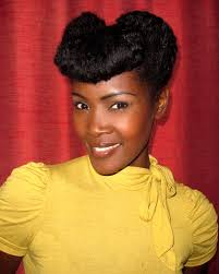 natural pin up hairstyles for black women 16 best retro afro women raw hair styles makeup images on