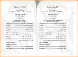church programs templates 28 images of episcopal wedding program template for word infovia net