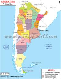 Patagonia South America Map by Argentina Political Map Features The International Boundary The