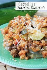 crockpot italian zucchini casserole mostly homemade mom
