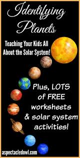 identifying planets teaching your kids solar system facts a