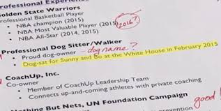 walker resume stephen curry s white house résumé business insider