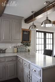light gray kitchen cabinets with granite 80 amazing kitchen cabinet paint color ideas 2018