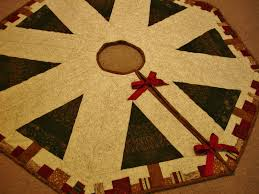 speedy christmas tree skirt moda bake shop