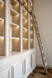 Sliding Bookshelf Ladder The Warrior Diet Limes Library Ladder And Shelving