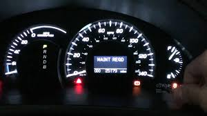 2010 toyota corolla maintenance light reset 2007 camry hybrid maintenance required light reset