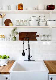 open shelving 5 ways to try open shelving in your kitchen porch advice