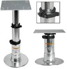 rv table pedestal adjustable possible dinette table mod forest river forums