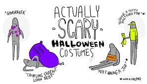 halloween costume background actually scary halloween costumes u2013 the leader u2013 fredonia news