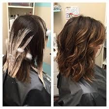 wash hair after balayage highlights bayalage hair painting highlights before and after balayage by