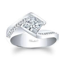 princess cut engagement ring barkev s princess cut engagement ring 8032l