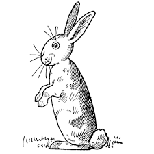 how to draw bunny rabbits for easter with easy step by step