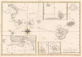 Map Of Pacific James Cook Third Voyage