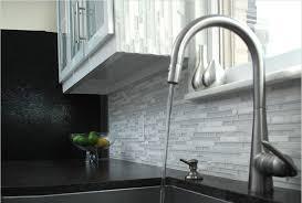 Amazing Kitchen With White Glass Backsplash My Home Design Journey - White glass tile backsplash