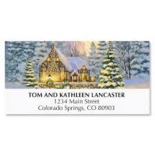 winter cottage christmas cards set of 18 current catalog