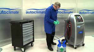 robinair ac690 pro tank filling youtube